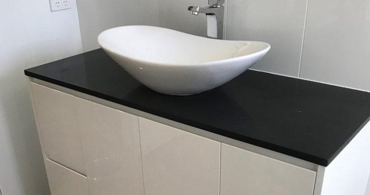 bathroom vanity install plumbink