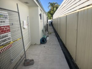 dug a drain to stop water from getting into home Plumbink Local Plumber on the Sunshine Coast All Drainage, plumbing Gas Fitting, bathroom renovations, leaking taps, replace toilets and sinks, new hot water systems, all plumbing work, Kitchen Plumbing, Cook Top,s Laundry plumbing, Drainage, Gas Fitting